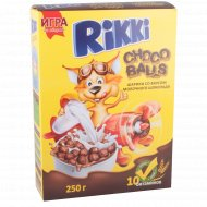 Шоколадные шарики «Rikki» со вкусом молочного шоколада 250 г.