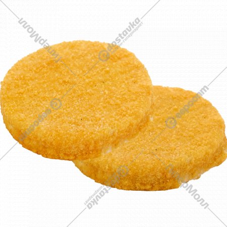 Бургеры из филе хека в панировке, 1 кг., фасовка 0.5-0.8 кг