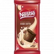 Шоколад молочный «Nestle» кофе латте, 90 г.