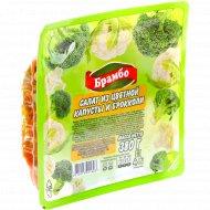 Салат «Брамбо» из цветной капусты и брокколи, 380 г.