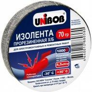 Лента изоляционная «Unibob» черная, ХБ 70г.