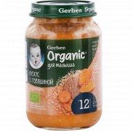 Пюре «Gerber Organic» Кускус с говядиной, 190 г