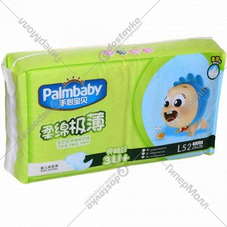 Подгузники одноразовые «PalmBaby» размер L, 52 шт.
