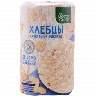 Хлебцы хрустящие «Doctor Greenr» рисовые, 80 г.