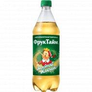 Напиток газированный «ФРУКТАЙМ» золотой ключик,с сахаром 1л.
