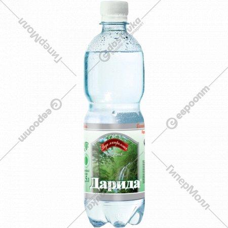 Вода минеральная «Дарида» газированная, 1 л.