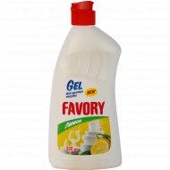 Средство для мытья посуды «Favory» лимон, 500 мл.