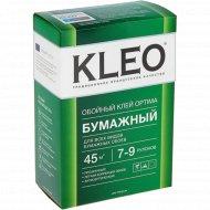 Клей обойный для бумажныйх обоев «Kleo Optima» на 35-45 м2, 160 г.