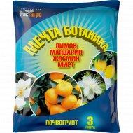 Почвогрунт «Лимон-Мандарин-Жасмин-Мирт» 3 л.