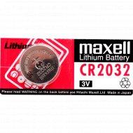 Батарейка «Maxell» CR2032,5 шт.
