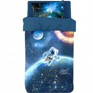 Комплект постельного белья «Блакiт» Космическое путешествие, 4552/D534
