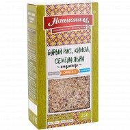 Гарнир «Националь» бурый рис, киноа, семена льна, 250 г