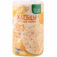 Хлебцы хрустящие «Doctor Green» медовые, 80 г.