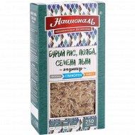 Смесь «Националь» бурый рис, полба, семена льна, 250 г
