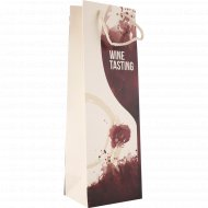 Пакет подарочный для вина, 12х36х9 см