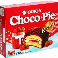 Печенье-бисквит «Чоко Пай Орион» Малина, 12х30г 360г