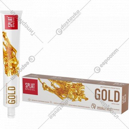 Зубная паста «Special Splat» gold, 75 мл.