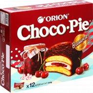 Печенье «Choco Pie» вишня, 12 шт, 360 г.