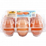 Яйца куриные «Золотые классические» С-1, 6 шт.
