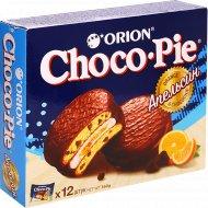 Печенье «Choco Pie Chocochip» апельсин, 12 шт, 360 г.