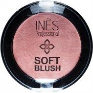 Румяна «INES» Soft Blush, 03, Теплый розовый