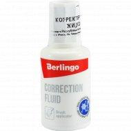Корректирующая жидкость «Berlingo» 20 мл.