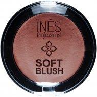 Румяна «INES» Soft Blush, 04, Карамельный