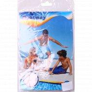 Пляжный мяч «Спорт» надувной, белый.