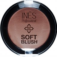 Румяна «INES» Soft Blush, 06, Холодный коричневый