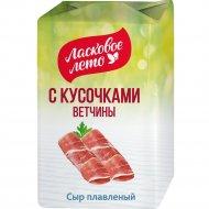 Сыр плавленый «Ласковое лето» с ветчиной, 45%, 80 г