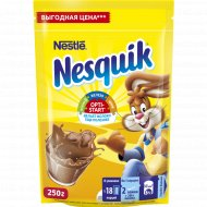 Какао-порошок «Nesquik» быстрорастворимый 250 г.