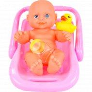 Игровой набор «Пупс с ванночкой».