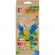 Карандаши цветные «Zoo» 12 цветов.