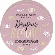 Патчи для глаз «Vivienne Sabo» Bounjour beaute, 30 шт