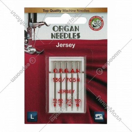 Иглы джерси «Organ» blister, 5/70-100.