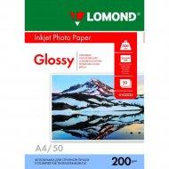 Фотобумага «Lomond» для струйной печати А4, 0102020, 50 листов.