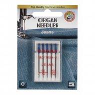 Иглы джинсовые «Organ» blister, 5/90-100.