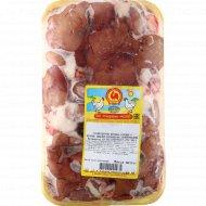 Субпродукты птичьи «Сердце и печень цыплят-бройлеров» 1 кг., фасовка 0.8-1.1 кг