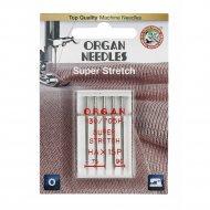 Иглы супер стрейч «Organ» blister, 5/75-90.