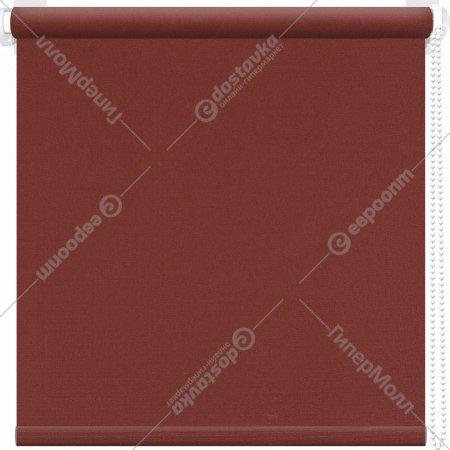 Рулонная штора «АС Март» Плейн, темно-коричневый, 67х175 см