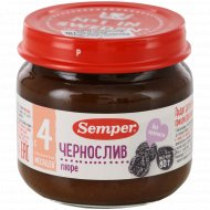 Пюре «Semper» чернослив, 80 г.