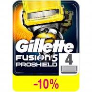 Сменные кассеты «Gillette» Fusion ProShield, 4 шт.