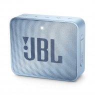Активная акустическая система «JBL» GO2 cyan.
