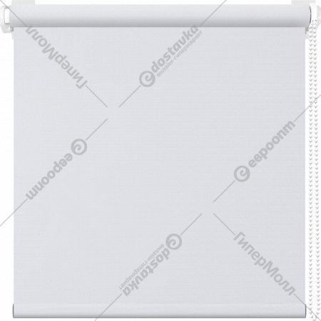 Рулонная штора «АС Март» Сильвия, белый, 43х175 см