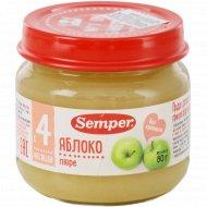 Пюре «Semper» яблоко, 80 г.