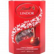 Конфеты «Lindor» из молочного шоколада с начинкой, 200 г.