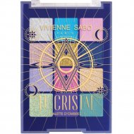 Палетка теней для век «Vivienne Sabo» Le Cristale, 9.6 г.