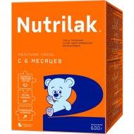 Смесь молочная «Nutrilak 2» 600 г.