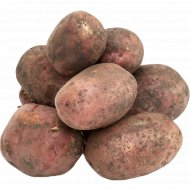 Картофель красный, 1 кг., фасовка 2.4-2.5 кг