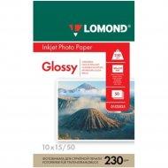 Фотобумага «Lomond» для струйной печати А6, 0102035, 50 листов.